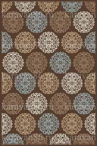 D313 BROWN-L.BLUE